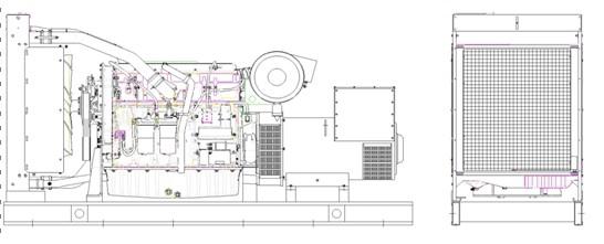 低噪音发电机组即静音型发电机组,是在普通柴油发电机的基础上,添加了静音箱,以此达到静音的效果。低噪音发电机组主要用于小区、酒店、商场等人员比较集中的地方。静音效果可根据实际情况的不同而不同,噪音标准要符合ISO374。 低噪音柴油发电机组参数: 生产商: 北京康诚鸿业发电设备有限公司 型号: KC-165GF 备用功率 165KW/206.