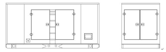 康诚发电机组远程显示屏接线图